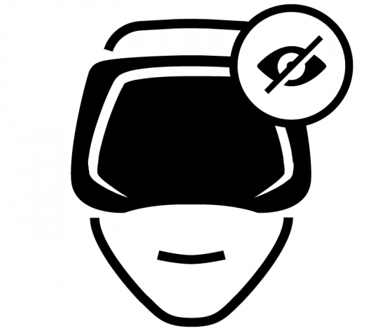 Augmented Reality for Visually Impaired People icon. Created by Lloyd Humphreys from Noun Project.