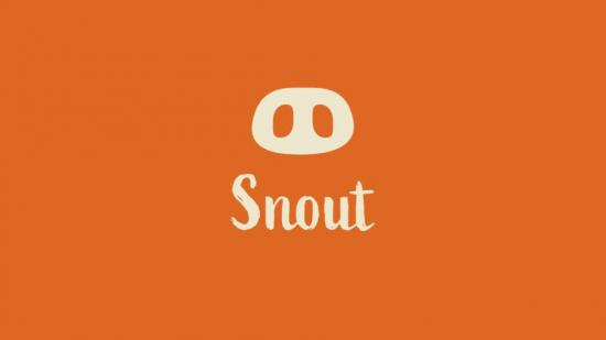 "Snout Logo has a pig snout and the words ""Snout"" underneath"